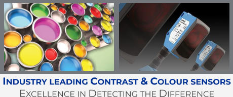 Industry leading Contrast & Colour sensors Excellence in Detecting the Difference