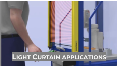 Light Curtain applications