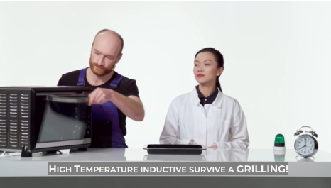 High Temperature inductive survive a GRILLING!