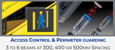 Access Control & Perimeter guarding 3 to 6 beams at 300, 400 or 500mm Spacing