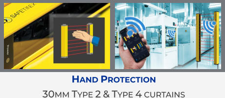 Hand Protection 30mm Type 2 & Type 4 curtains