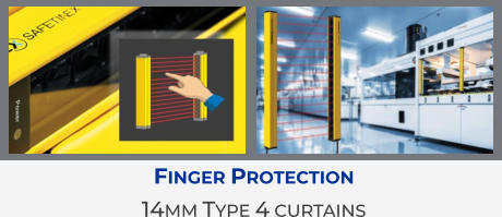 Finger Protection 14mm Type 4 curtains