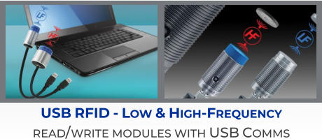 USB RFID - Low & High-Frequency read/write modules with USB Comms