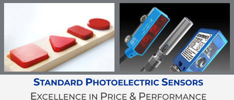 Standard Photoelectric Sensors Excellence in Price & Performance