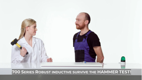 700 Series Robust inductive survive the HAMMER TEST!
