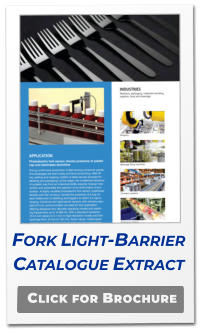 Click for Brochure Fork Light-Barrier Catalogue Extract