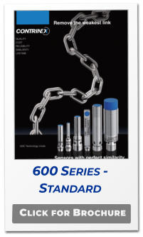 Click for Brochure 600 Series -  Standard